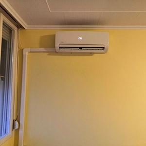 Lakáson belüli klímatelepítés